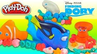getlinkyoutube.com-Play-doh Finding Dory Peppa Pig Softee Dough Pinypon Dollhouse