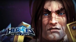 getlinkyoutube.com-♥ Heroes of the Storm (A-Z Gameplay) Varian Wrynn (HoTs Quick Match)