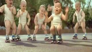 getlinkyoutube.com-Baby group dancing - Animation