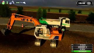 getlinkyoutube.com-Farming Simulator BZH TRAVAUX DE CARRIÈRE/TP