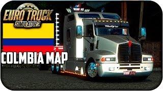 getlinkyoutube.com-Mapa de colombia | Euro truck simulator 2 | 1.17 - 1.21 | capitulo 1