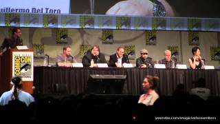 SDCC 2012 &#8211; Pacific Rim Panel Video