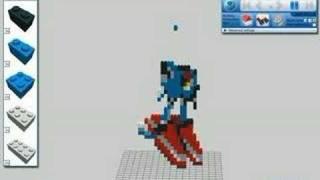 getlinkyoutube.com-Lego Metal Sonic