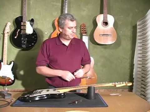 How to set up your Fender Stratocaster with Kip Bradford