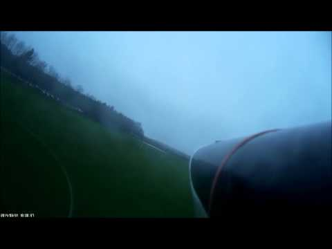 AXN floater, mobius onboard in fog and hobbyking GUMBY