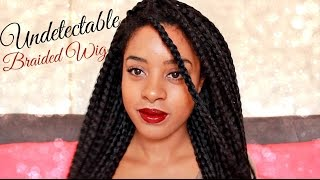 getlinkyoutube.com-Natural Looking Braided Wig | Elevate Style