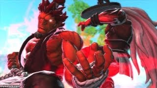 getlinkyoutube.com-Street Fighter X Tekken 'Akuma & Ogre Arcade Playthrough' TRUE-HD QUALITY