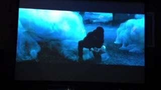 getlinkyoutube.com-Panasonic PT-AE8000 High Definition Home Cinema Demo/Review