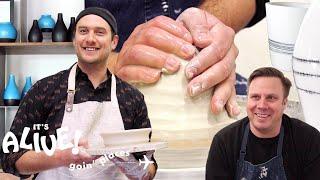 Brad Tries Pottery   It's Alive: Goin' Places   Bon Appétit