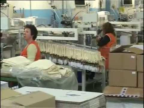 Proses produksi kain rajut