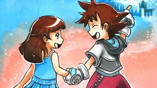 getlinkyoutube.com-Kingdom Hearts Valentines Copic Timelapse