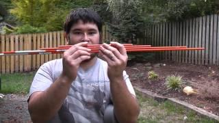 getlinkyoutube.com-How to Build a 40 Pound No Heat PVC Bow for Less Than $7