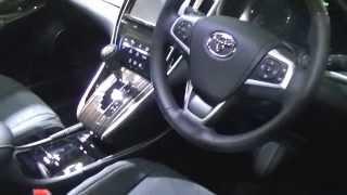 getlinkyoutube.com-新型ハリアー!新車で買えるハリアー公開!標準車→G's→モデリスタ→TRD 全部ハリアー比較動画