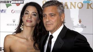 getlinkyoutube.com-Inside George Clooney And Amal Alamuddin's First Red Carpet Event Together