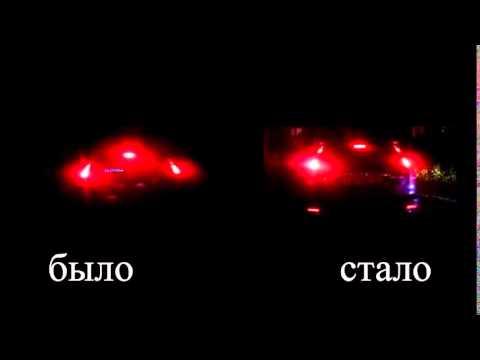 Сравнение свечение стоп сигналов на CR-V