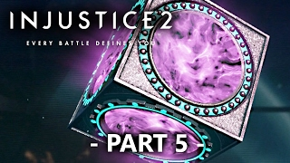 getlinkyoutube.com-Injustice 2 Gameplay Part 5 -  10x Silver Chests Opening