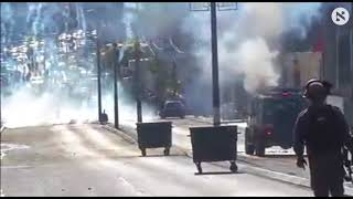 Clashes in Bethlehem following Trump's Jerusalem speech