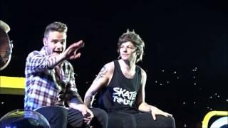 getlinkyoutube.com-One Direction sing Zayn's solos