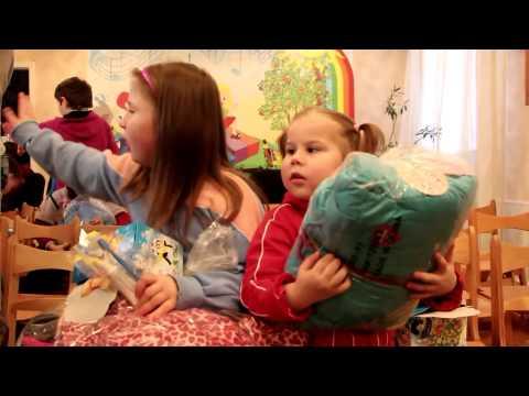 Праздник Рождества в детском доме