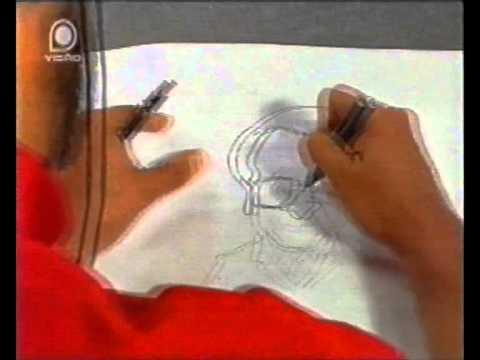 Chargista Bello fazendo caricatura de Tarcísio Delgado