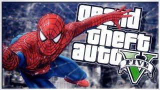 GTA 5 PC Mod Showcase - SUPER HERO SPIDERMAN MOD!