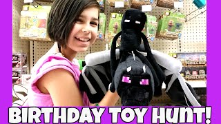 Toy Hunt - Shopping for Auto's Birthday Present - Minecraft, LEGO, Skylanders and More!