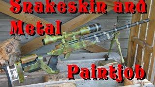 getlinkyoutube.com-Special Paint: Snakeskin / Ripped Metal Camo