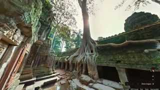getlinkyoutube.com-Explore the temples of Angkor, Cambodia with Google Maps