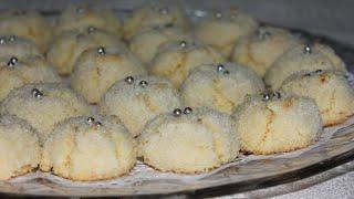 getlinkyoutube.com-حلوى بجوز الهند (الكوك) هشة و لذيذة و سهلة التحضير