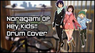 getlinkyoutube.com-ノラガミ Noragami ARAGATO OP 【Hey Kids!!!】Drum Cover