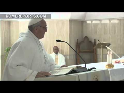 Pope Francis asks that Church be joyful and positive community