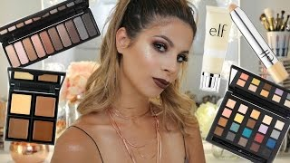 getlinkyoutube.com-NEW ELF Makeup First impressions Makeup Tutorial | Laura Lee