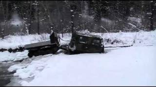 getlinkyoutube.com-Extreme Hagglunds - Ice Breaking River Fun.mp4