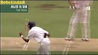 getlinkyoutube.com-Miracle cricket catch, but off a no ball. You won't belive it.