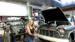 getlinkyoutube.com-Sunday-Mostly 55 Chevy truck and nonsense