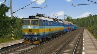 getlinkyoutube.com-Microsoft Train Simulator - trať BP | Os 5905 Kolín - Havlíčkův Brod Ep. 4
