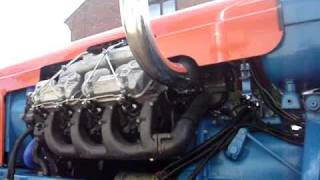 getlinkyoutube.com-Fordson Major Perkins Turbo V8 540 235hp