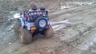 getlinkyoutube.com-Millino Gaucho 4x4 Mud Modified Power Wheels 2008