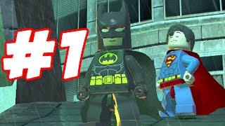 getlinkyoutube.com-LEGO Batman 2 - LEGO BRICK ADVENTURES - PART 1