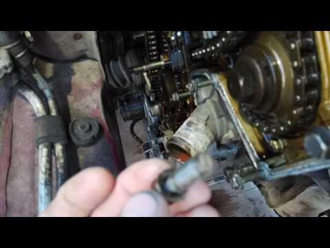 Как открыть крышку цепи ГРМ Ниссан Максима А32