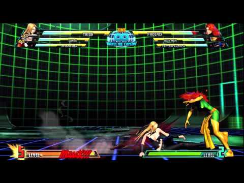 Marvel vs Capcom 3 - Trish Special