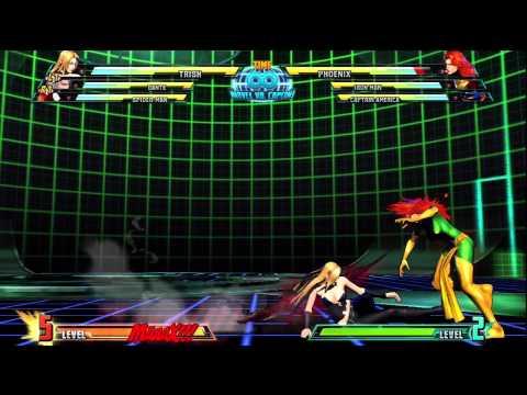 Marvel vs Capcom 3 - Trish Special