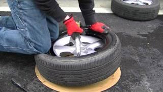 getlinkyoutube.com-how to mount a tire by hand
