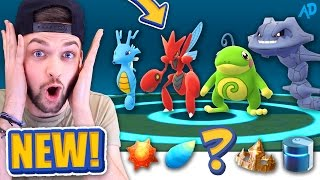 getlinkyoutube.com-I got the RAREST ITEM in the GAME - BUT WHICH ONE? - Pokemon GO *NEW* EVOLUTION!