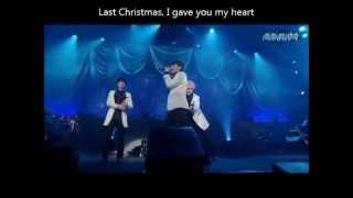getlinkyoutube.com-Super Junior KRY Silent night + Feliz navidad + Last christmas Special Winter Concert