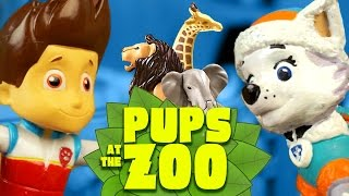 getlinkyoutube.com-Paw Patrol Toys - Pups Save the Zoo with Paw Patrol Toys - Paw Patrol Video Parody by KidCity