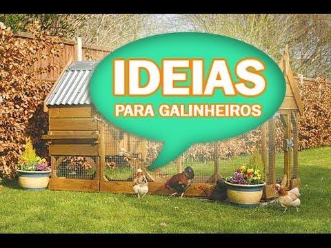 Ideias para seu galinheiro !!!