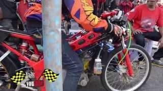 getlinkyoutube.com-ISTIMEWA penampakan Motor drag honda Nova dash Drag bike