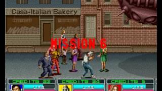 getlinkyoutube.com-Alien Storm 3 player Netplay arcade game