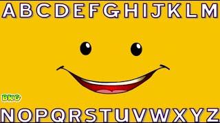 getlinkyoutube.com-ABC SONG | Alphabet Song for Children | Learn Alphabet with Face | Best Kid Games